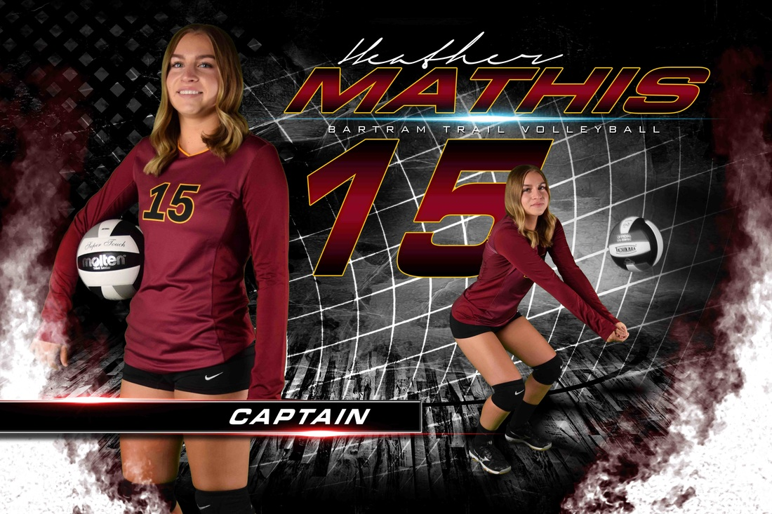 volleyball player templates awesome sport banners